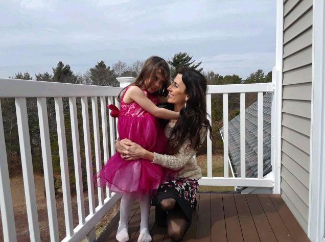 Charlene Ryan and daughter Elireh.
